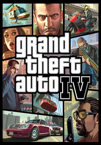 Grand Theft Auto IV in style GTA V