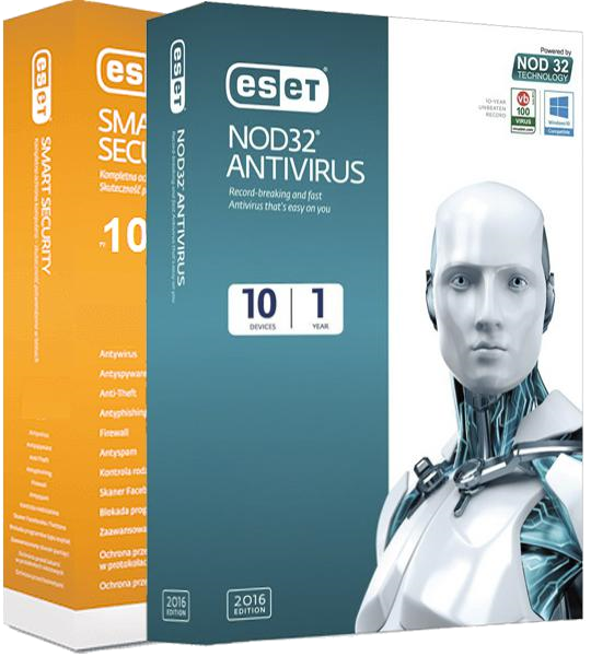 ESET NOD32 Antivirus / Smart Security v10.1.235.1 RePack by KpoJIuK [2017]
