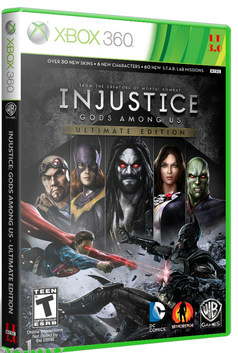 [XBOX 360] Injustice: Gods Among Us (2013) [RUS/FULL/Freeboot][JTAG]