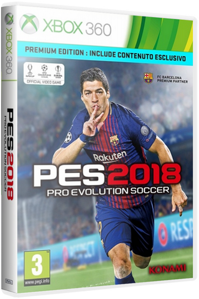 [X360] Pro Evolution Soccer 2018 (2017) [FreeBoot]