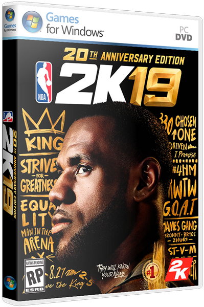 NBA 2K19 (ENG) PC | Лицензия