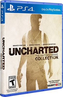 [PS4 Exclusive] Uncharted 1 2 3 The Nathan Drake Collection [EUR/RUS] (v1.02)