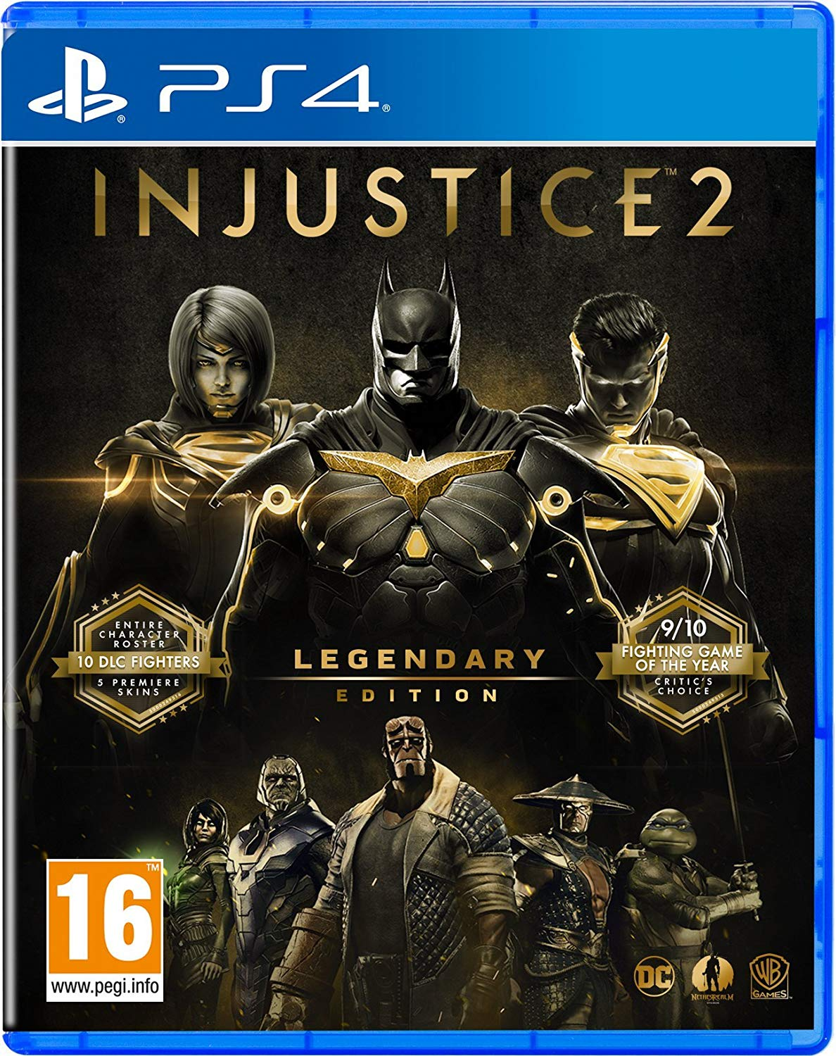 [PS4] Injustice 2 - Legendary Edition (OFW 4.55+) (2017) [ENG]