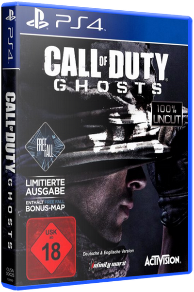 [PS4] Call of Duty: Ghosts (OFW 4.55+) (2013) [RUS] [Pkg by sanialis / eig]