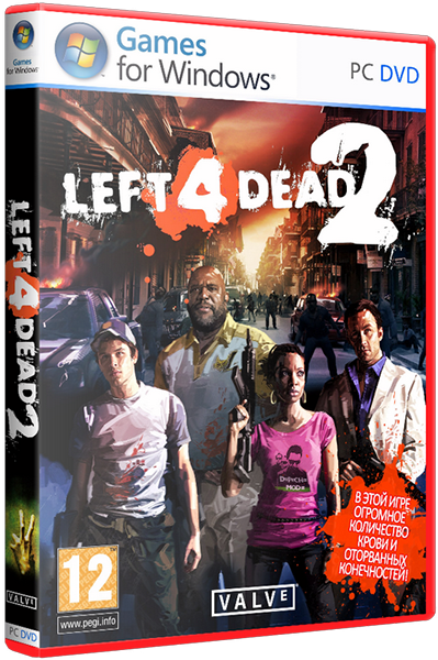 Left 4 Dead 2 [v2.2.0.9 + Мультиплеер] (2009) PC | Repack by Pioneer